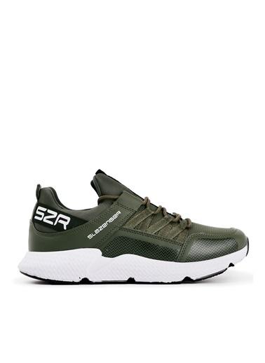 Slazenger Slazenger ZAFIRA Koşu & Yürüyüş Erkek Ayakkabı Haki Haki